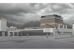 """Centro Cultural y Deportivo Ex-CCU """"Fábrica de Actividad Urbana"""" – Neftalí Vargas"""