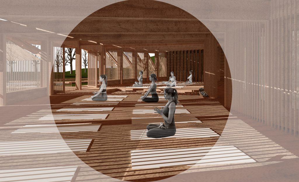 Centro de Meditación y Bienestar Consciente - Sofía Cartes Ordenes - Escuela de Arquitectura UBB