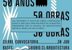Convocatoria 50 Obras – 50 Años