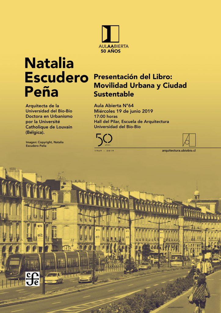 Aula Abierta 64 - Natalia Escudero - Escuela de Arquitectura UBB