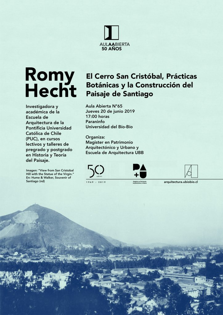 Aula Abierta 65 - Romy Hecht - Escuela de Arquitectura UBB
