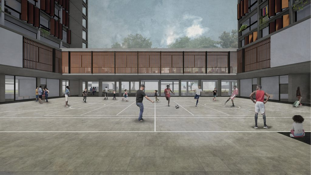Centro de Integración Migrante. - Escuela de Arquitectura UBB