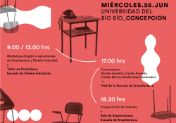 """Exposición """"Muebles SINGAL – Diseño Chileno pionero en madera moldeada"""""""