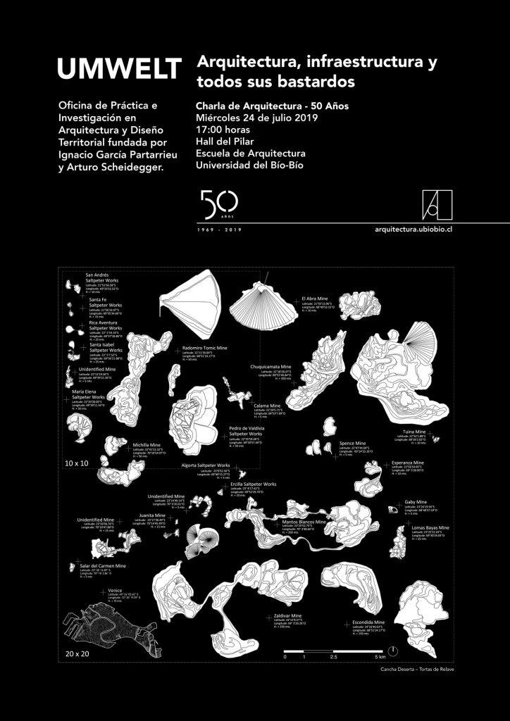 Charla de Arquitectura 50 Años - Escuela de Arquitectura UBB